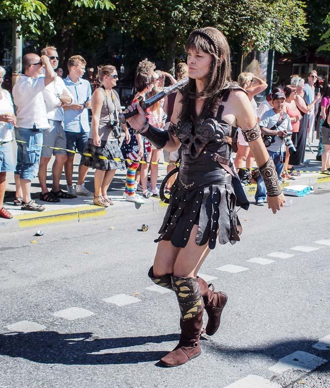 En romersk krigarinna från Umeå