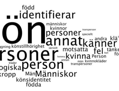 Undersökning av den svenska allmänhetens kunskap om och attityder till trans